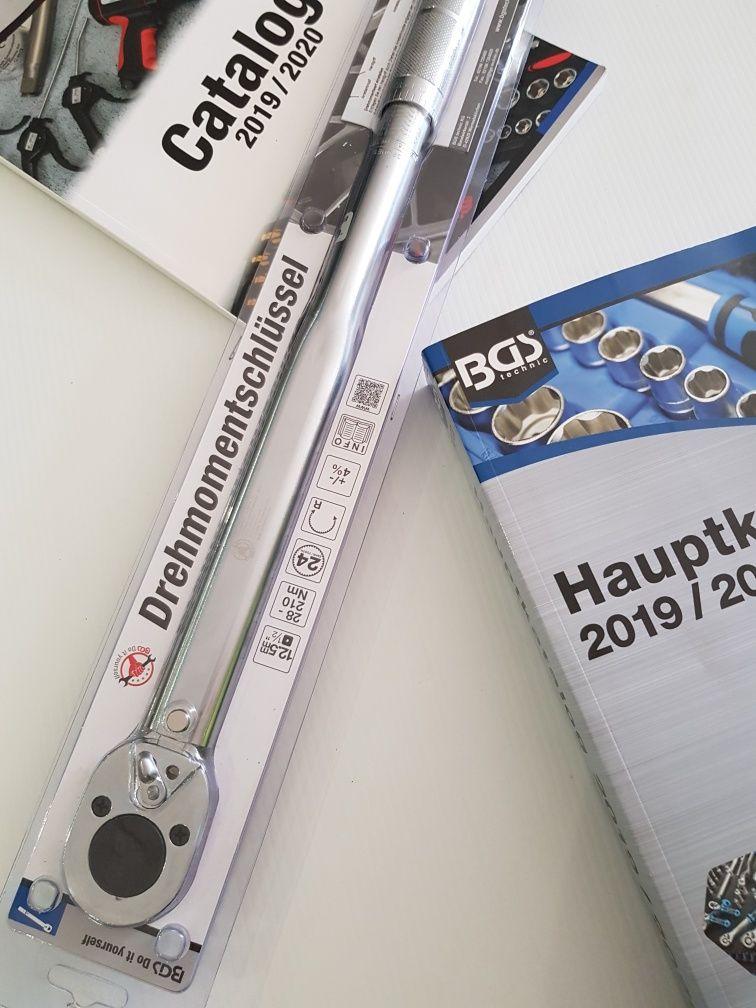 Chave de Torque / Dinamométrica BGS 28Nm / 210Nm BGS Germany - PROMOÇÃ