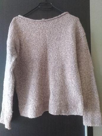 Sweter Gap, jasnoróżowy, 25% wełny