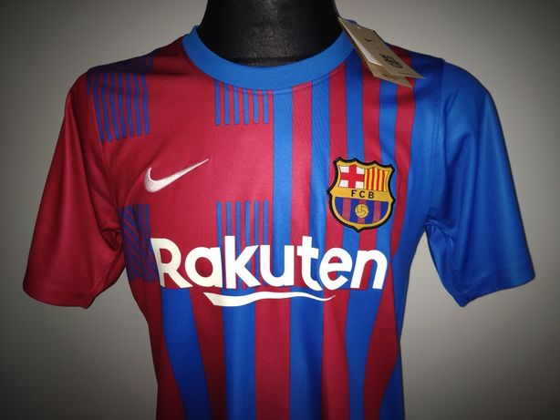 FC Barcelona Koszulka Nike Sezon 21/22 2021/2022 Domowa Barca