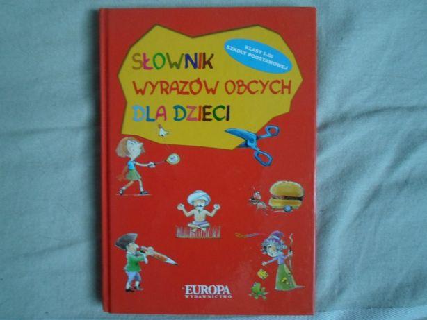 Słownik wyrazów obcych dla dzieci