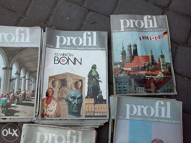 Stara Gazeta Profil z Republiki Federalnej Niemiec