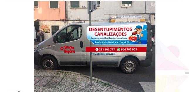 Canalizador SOS desentupimentos, roturas 24H, Autoclismos