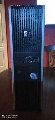 Komputer HP DC7800 sff + głośniki CREATIVE