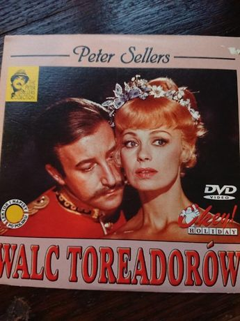 PETER SELLERS w Walc toreadorów na dvd