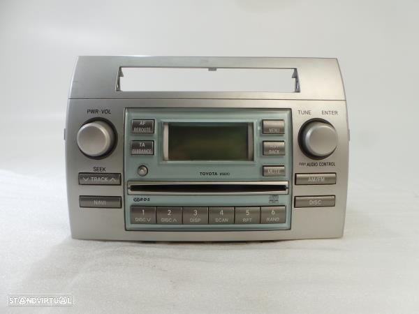 Auto-Rádio (Cd) Toyota Corolla Verso (Zer_, Zze12_, R1_)