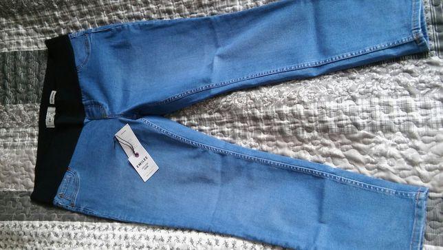 Nowe spodnie ciążowe New Look, rozm.44+gratis