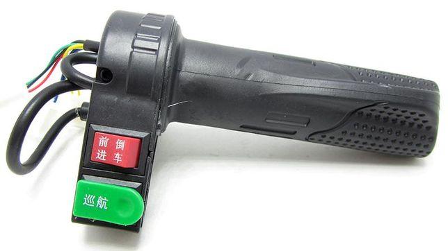 Ручка газа для электровелосипеда 22мм правая. БОЛЬШОЙ ВЫБОР