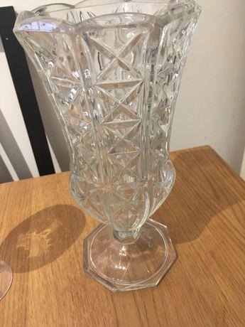 Jarra de Cristal e copo de cristal
