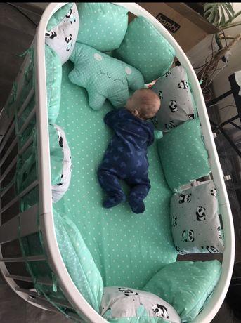 Детская кроватка-трансформер 9 в 1