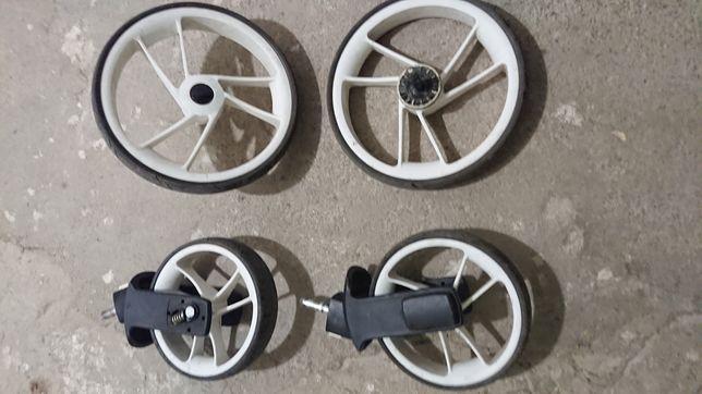 Koła kółka do wózka dziecięcego easyGo - komplet