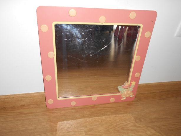 Espelho com moldura Vertbaudet