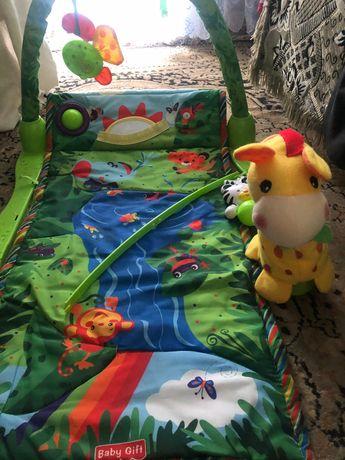 Дитячий коврик іграшка