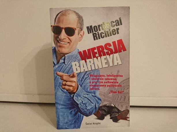 """""""Wersja Barneya"""" Mordecai Richler. Książka"""