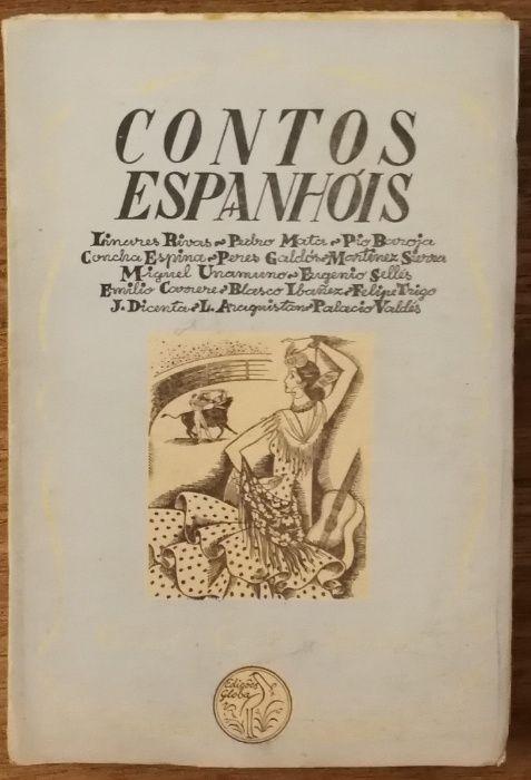 contos espanhóis, antologia, edições gleba Estrela - imagem 1