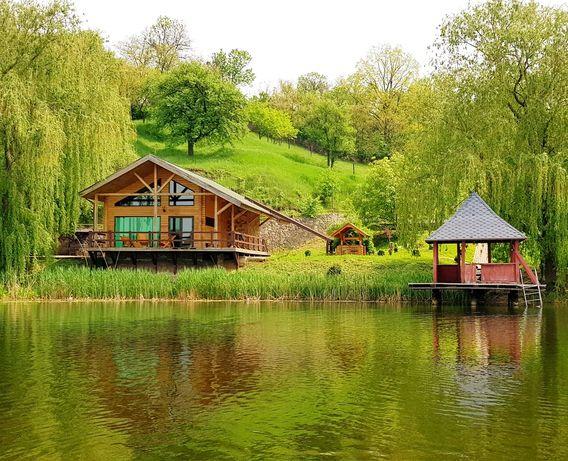 Аренда дома .Дом у озера.сауна,отдых, база отдыха, дача.РИБАЛКА..