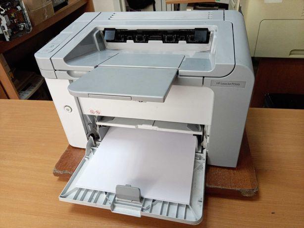 Лазерный принтер HP LaserJet P1566, пробег 12 тыс. стр.