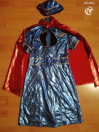Extra strój super bohaterki rozmiar S