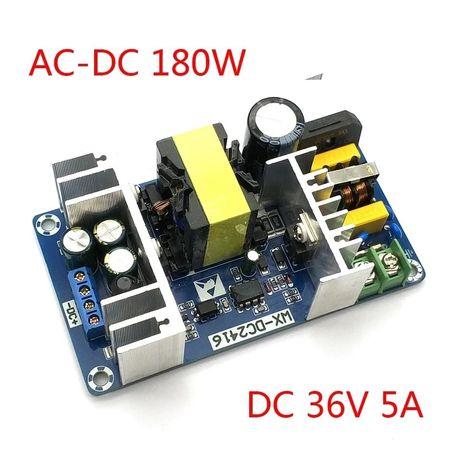 Импульсный блок питания . AC 100-240V в DC 36V 5A 180W. Модуль питания