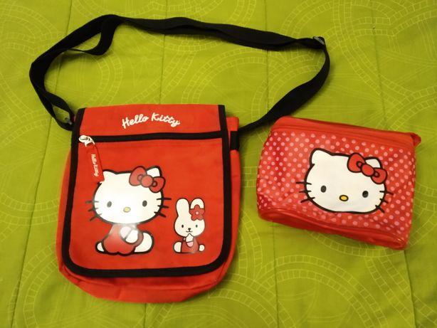 Bolsas Hello Kitty como novas