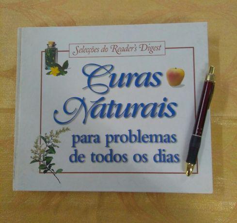 Livro de curas naturais, das Selecções di Reader's Digest.