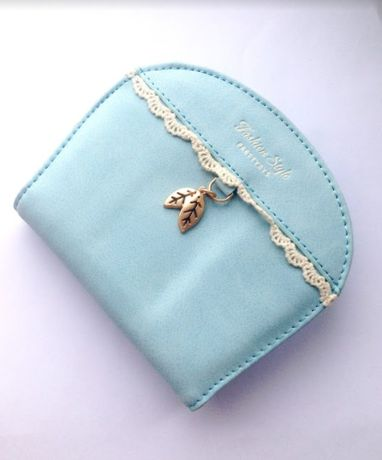 Женский кожаный кошелек, маленький кошелек