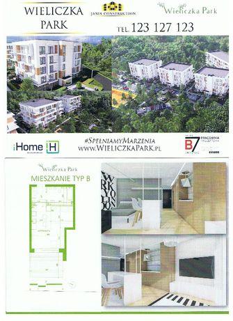 Sprzedam mieszkanie 32,82 m w stanie deweloperskim w Wieliczce