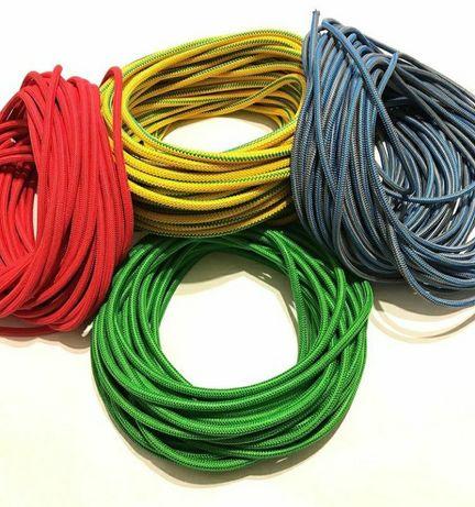 Борцовская резина (жгут эспандер) для бокса. Цветные. Д.8-12 мм.
