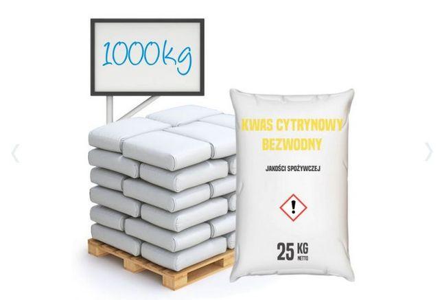 Kwas cytrynowy spożywczy bezwodny E330, 1000 kg