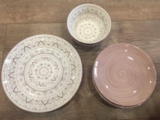 Zestaw porcelany BOHO 8 sztuk