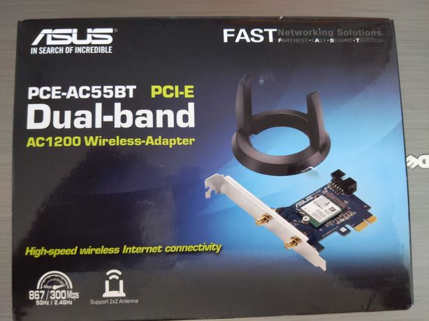 Asus PCE-AC55BT dual band