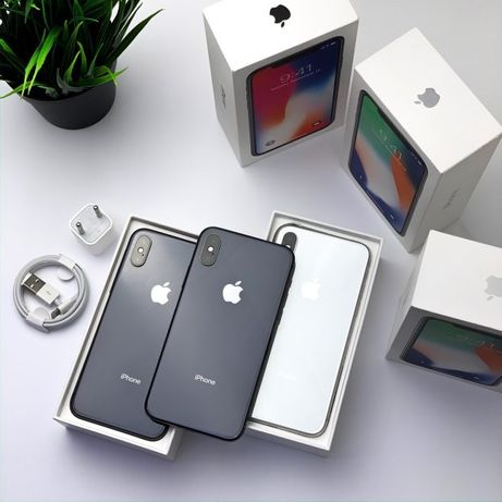 •НОВИЙ• iPhone X 64gb 256gb •АКЦИЯ• Space Gray Silver