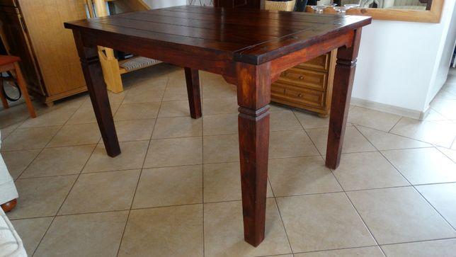 Stół drewniany tzw. kolonialny