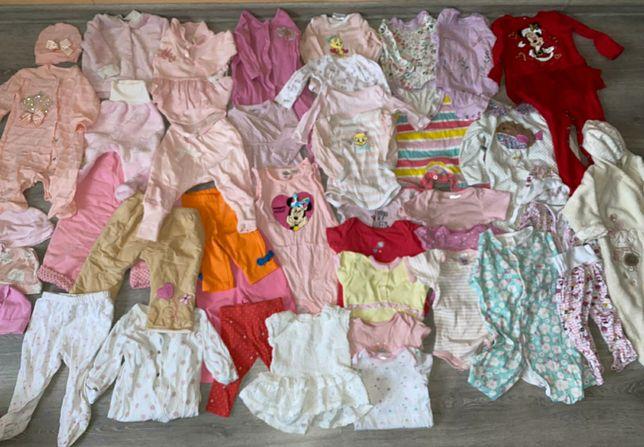 Пакет детской одежды на девочку  0 - 12 мес.