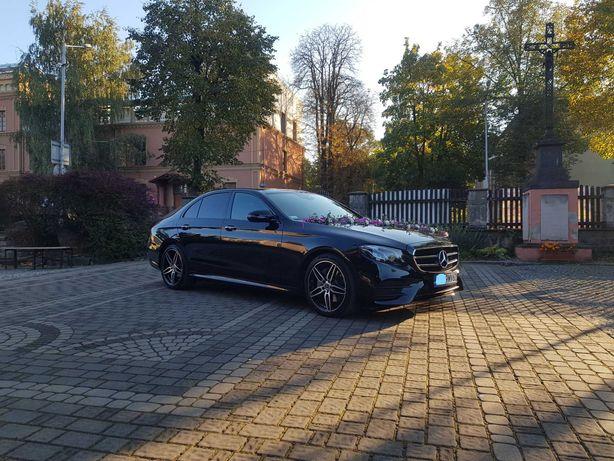 Auto do ślubu Mercedes E - W213 AMG