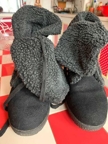 Ботинки зимние, размер 41