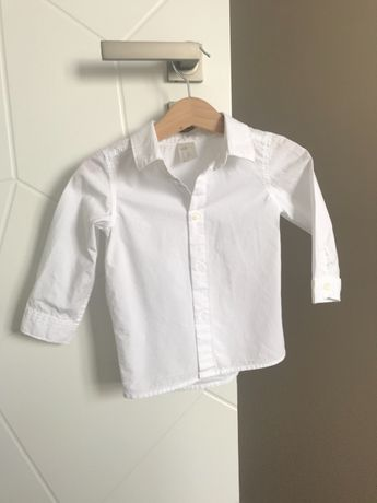 Biała koszula dziecięca H&M rozm.74
