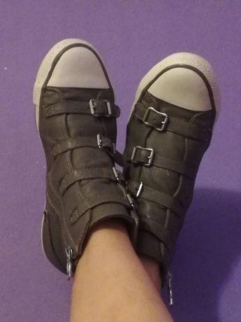 Trampki ash virgin skóra naturalna sneakersy 36