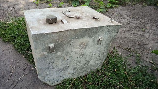 Алюминиевый бак 50л