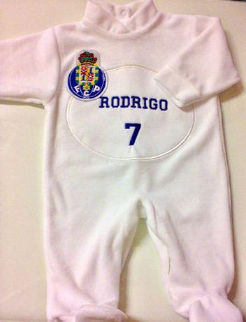 Babygrow de clubes de futebol NOVOS