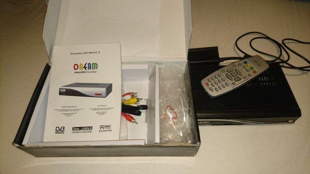 Dekoder Dreambox DM500S Cccam mgcamd linux tv sat dm-500 dm500