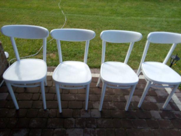 Białe krzesła 4 szt