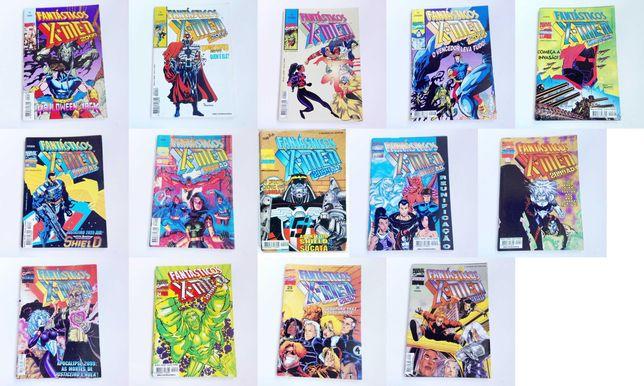 Livro revista Fantásticos X-Men Abril ControlJornal