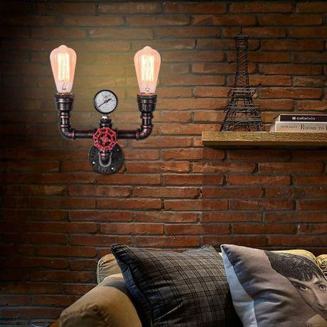 Настенный светильник Лофт, Loft, Steampunk, Стимпанк, лампа