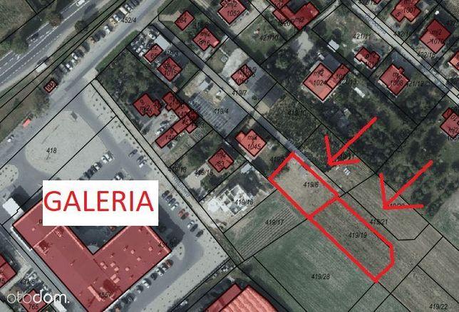 2 sąsiadujące ze sobą działki w centrum Grębocina