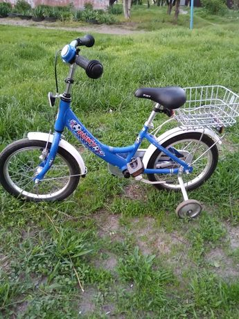 Велосипед детский PUKY на 16 синий