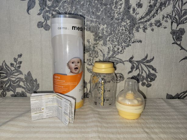Бутылочка Medela Calma 150ml,  смартсоска