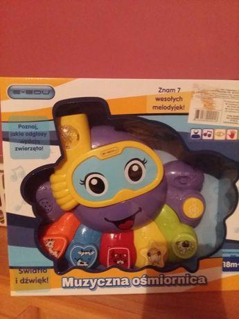 Ośmiornica-zabawka