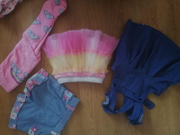 Ubranka na dziewczynkę