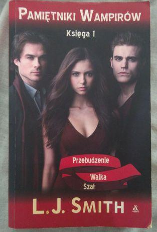 Sprzedam książkę pamiętniki wampirów