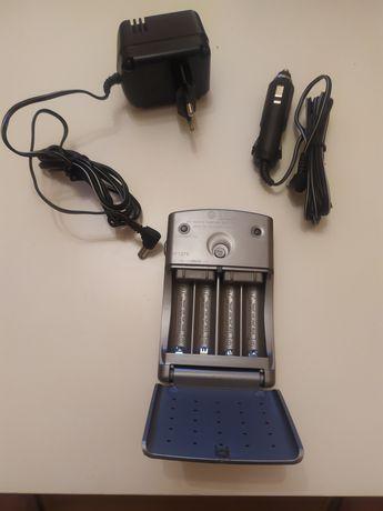 Ładowarka akumulatorów AA/AAA fast charge,  230 / 12 Volt . Nowa.